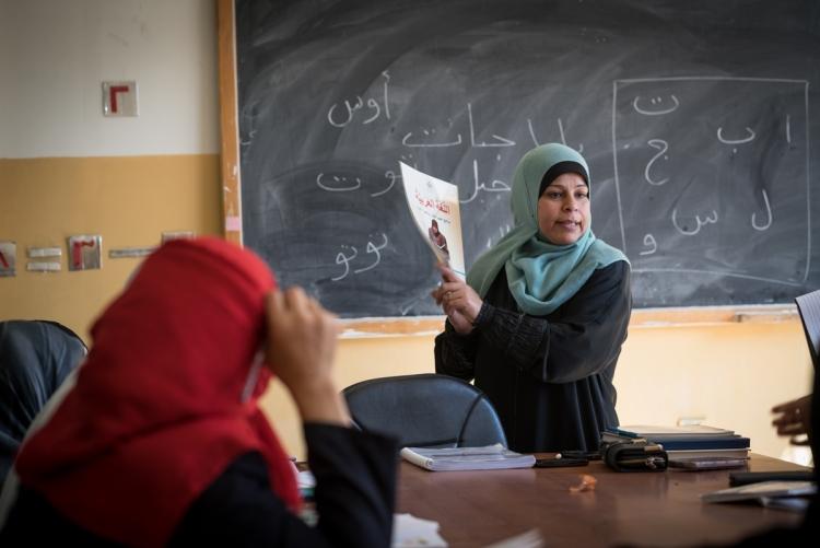 Internationales Serviceprojekt 2018 - 2020   Eid bi Eid   Jordan-Zaad Al-khair UN Women